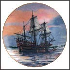 Mayflower Collector Plate by Alan D'Estrehan