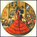 Flamenco Of Madrid Collector Plate by B. Higgins Bond