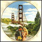 Golden Gate Of San Francisco Collector Plate by B. Higgins Bond