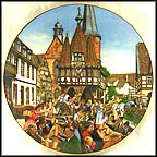 Lunchtime In Michelstadt Collector Plate by B. Higgins Bond