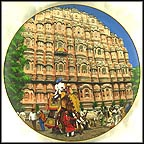 Palace Of The Wind, Jaipur Collector Plate by B. Higgins Bond