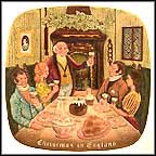 Christmas In England Collector Plate by Harry Sales