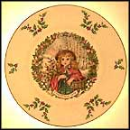 Victorian Girl Collector Plate