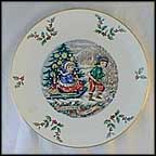 Sleigh Ride Collector Plate