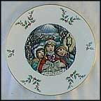 Carolers Collector Plate