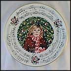 Silent Night Collector Plate by Neil Faulkner MAIN
