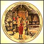 Caroling Collector Plate MAIN