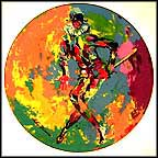 Harlequin Collector Plate by Leroy Neiman