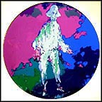 Pierrot Collector Plate by Leroy Neiman