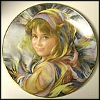 Gabriella Collector Plate by Francisco Masseria MAIN