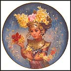 Mariani - Bali Collector Plate by Brenda Burke