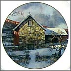 Pennsylvania Pastorale Collector Plate by Eric Sloane MAIN