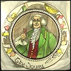 The Squire - D6284 Collector Plate