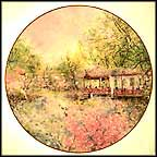 Garden Of Tranquility Collector Plate by Chen Chi
