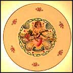 Cherub's Song Collector Plate