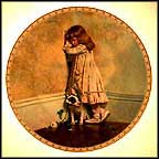"The Original ""In Disgrace"" Collector Plate by Charles Burton-Barber MAIN"