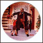 The Big Moment Collector Plate by Norman Rockwell MAIN
