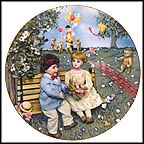 First Love Collector Plate by Carol Greunke