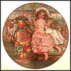 Carousel Magic Collector Plate by Sandra Kuck MAIN