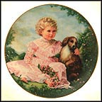 Golden Afternoon Collector Plate by Sandra Kuck MAIN