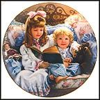 Pretty As A Picture Collector Plate by Sandra Kuck