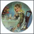 Breakfast Collector Plate by John McClelland