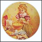 Muffin Making Collector Plate by John McClelland