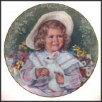 April - Easter Morning Collector Plate by Sandra Kuck