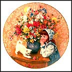 June - Just Dreaming Collector Plate by Sandra Kuck