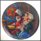 November - Giving Thanks Collector Plate by Sandra Kuck
