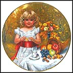 October - Indian Summer Collector Plate by Sandra Kuck