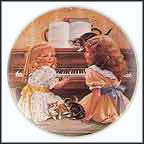 Afternoon Recital Collector Plate by Sandra Kuck
