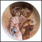 Amy's Magic Horse - artist signed Collector Plate by Sandra Kuck