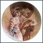 Amy's Magic Horse Collector Plate by Sandra Kuck