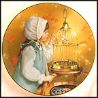 Morning Song - artist signed Collector Plate by Sandra Kuck