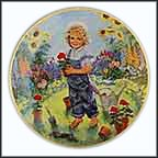 A Time To Plant Collector Plate by John McClelland