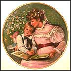 Times Remembered Collector Plate by Sandra Kuck