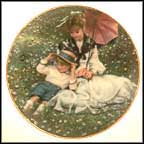 A Time Together Collector Plate by Sandra Kuck MAIN