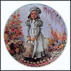 Mary, Mary - artist signed Collector Plate by John McClelland MAIN