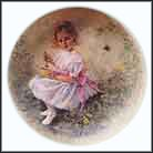 Little Miss Muffet Collector Plate by John McClelland