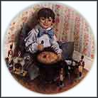 Little Jack Horner Collector Plate by John McClelland