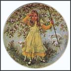 Little Bo Peep Collector Plate by John McClelland