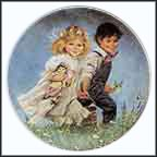 Jack And Jill Collector Plate by John McClelland