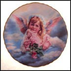 Angel Of Grace Collector Plate by Sandra Kuck