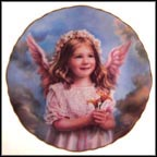 Angel Of Peace Collector Plate by Sandra Kuck