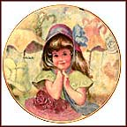 Aunt Tillie's Hats Collector Plate by Thornton Utz