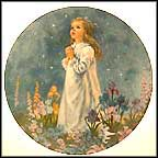 Twinkle Twinkle Little Star Collector Plate by John McClelland