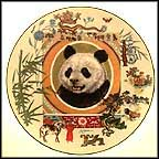 Yen-Poh The Panda Collector Plate by Dot And Sy Barlowe MAIN