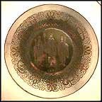 We Three Kings Of Orient Are Collector Plate by Robert Johnson