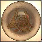 Adoration Of The Kings Collector Plate by Roger Van Der Weyden